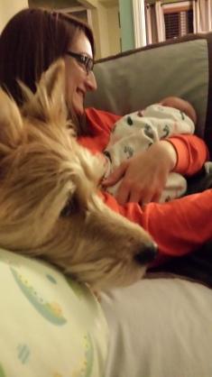 Dorian, Baby Carter and I